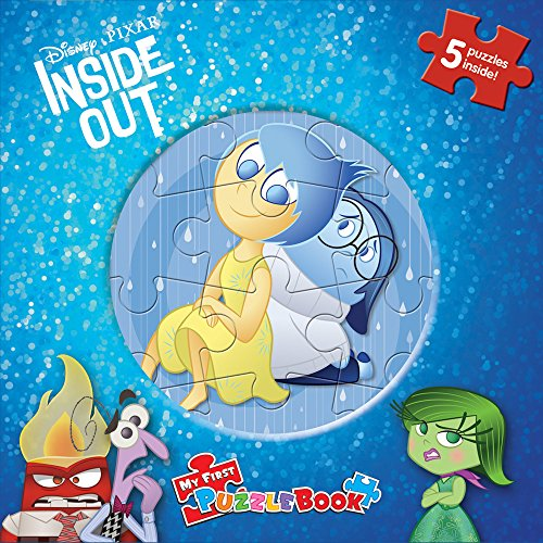 Disney/Pixar Inside Out My First Puzzle Book: Phidal Publishing Inc.