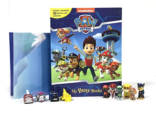 9782764330890: Paw Patrol My Busy Book