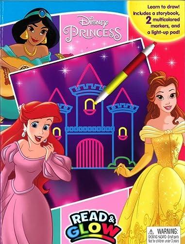 9782764331156: Disney Princess Read & Glow