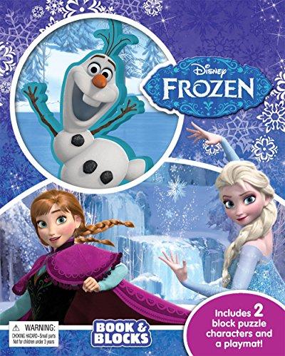 9782764331705: Disney Frozen Book & Blocks
