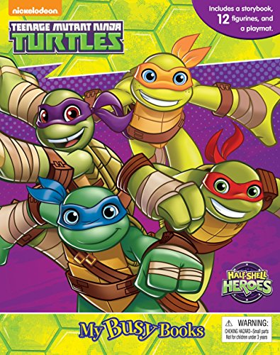 Teenage Mutant Ninja Turtles Half Shell Heroes Busy Book