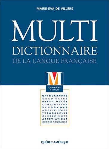 Multi Dictionnaire De La Langue Française: De Villers, Marie-Èva