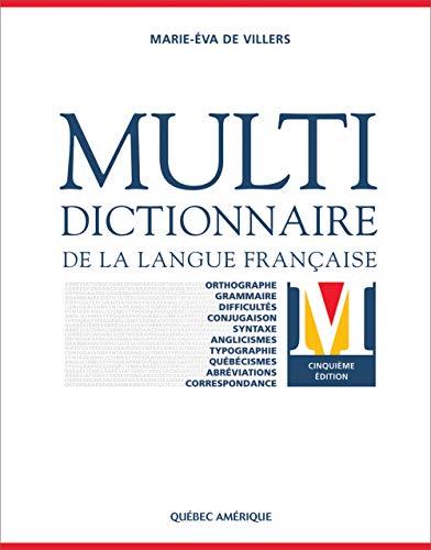 9782764406236: Multidictionnaire Langue Française 5e