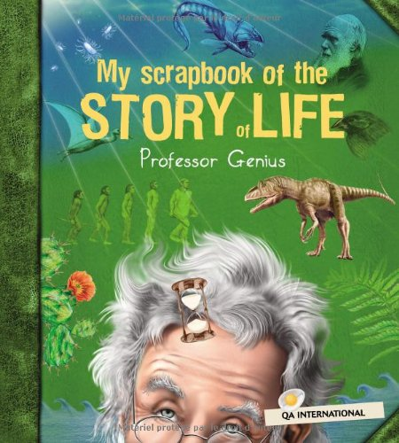 9782764409022: My Scrapbook of the Story of Life (by Professor Genius) (French Edition)