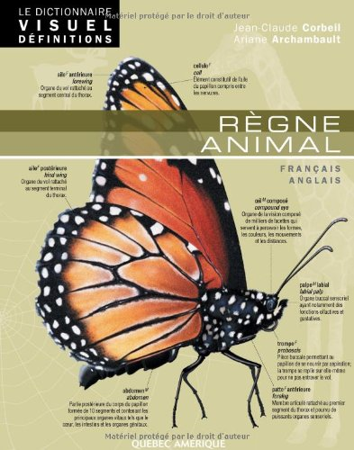 9782764411018: Le Dictionnaire Visuel Définitions - Règne animal (French Edition)