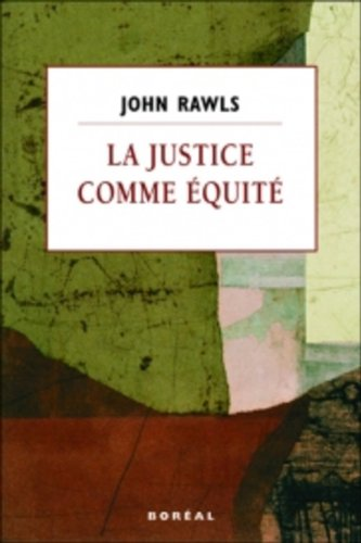 9782764602775: Justice comme équité (La)