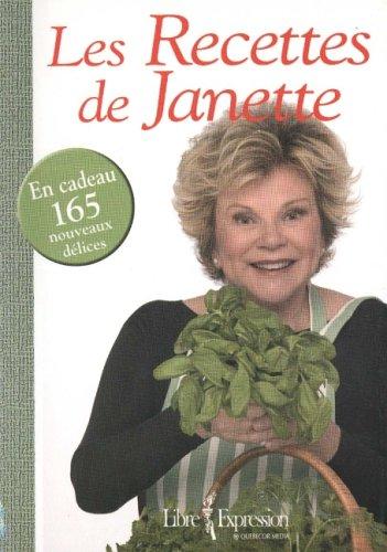Les recettes de Janette: Bertrand, Janette