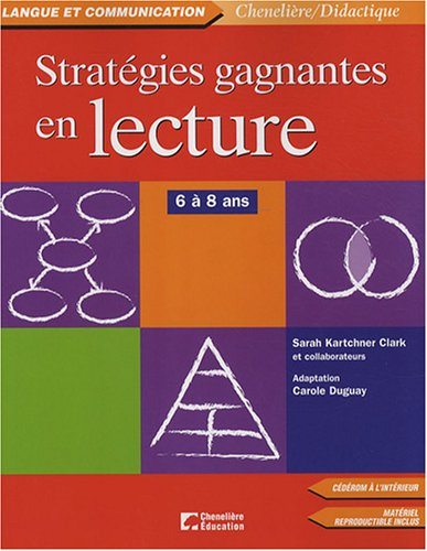 9782765017271: strategies gagnantes en lecture 6/8 ans