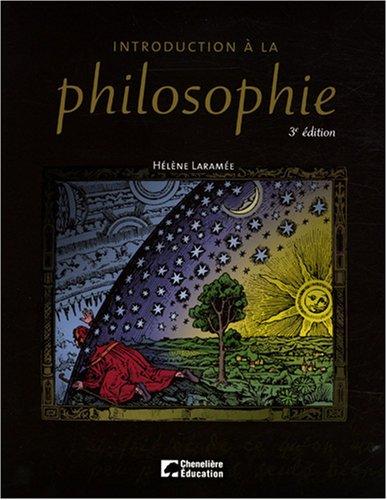Introduction à la philosophie. 3 èdition.