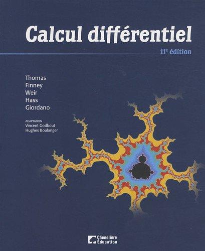 Calcul différentiel: Maurice-D Weir; George-B