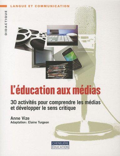9782765030355: l'education aux medias