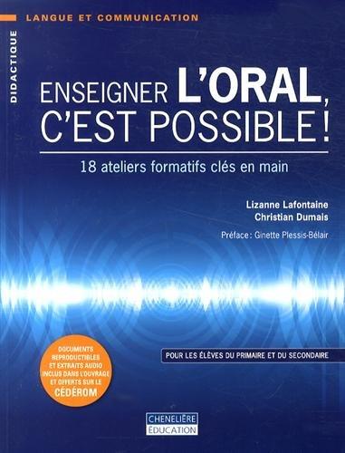 ENSEIGNER L ORAL C EST POSSIBLE: COLLECTIF