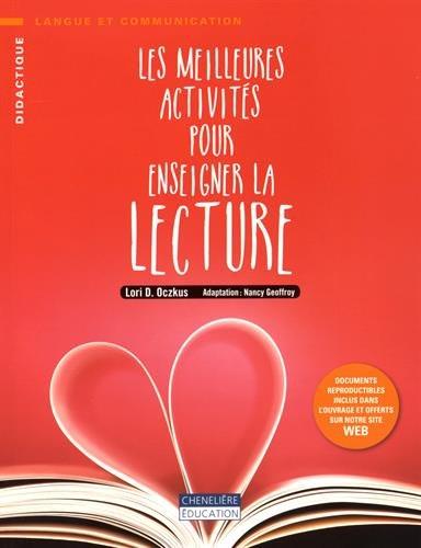 9782765049951: Les meilleures activités pour enseigner la lecture
