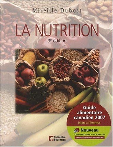 9782765102441: La nutrition (French Edition)