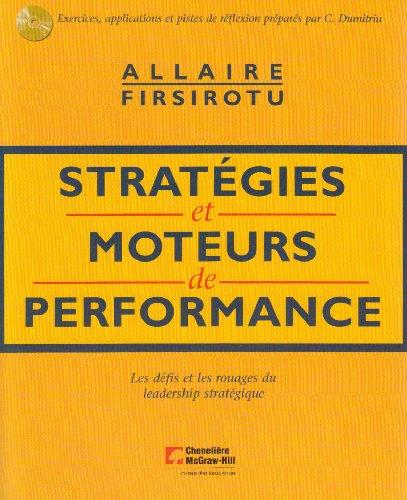 9782765103622: Stratégies et moteurs de performance