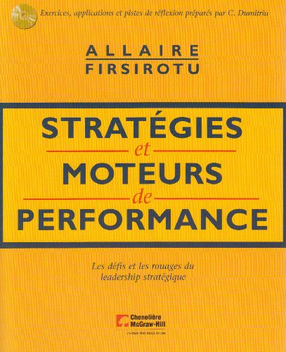 STRATEGIES ET MOTEURS DE PERFORMANCE + 1CD: ALLAIRE / FIRSIROTU