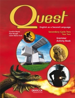9782765204688: Quest: English as a Second Language Secondary Cycle Two Year two; Grammar Activity Book