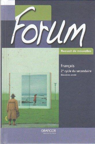 Forum Recueil de nouvelles; 2e cycle du: Ginette L?tourneau