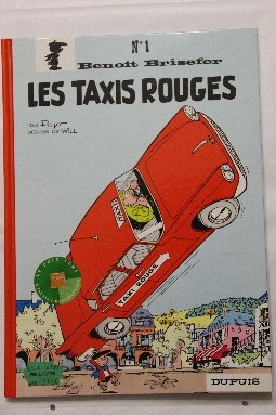 BRISEFER N.1 LES TAXIS ROUGES: PEYO ; WILL