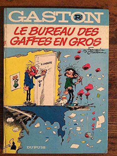 9782800100944: GASTON NUMERO 2 : LE BUREAU DES GAFFES EN GROS (Gaston Lagaffe)