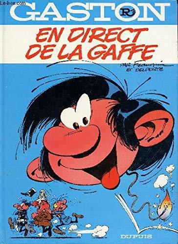 9782800103709: Gaston 4: En Direct De La Gaffe