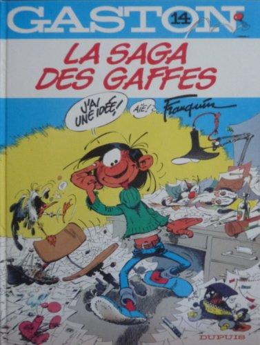 9782800109558: La Saga DES Gaffes (Gaston Lagaffe)