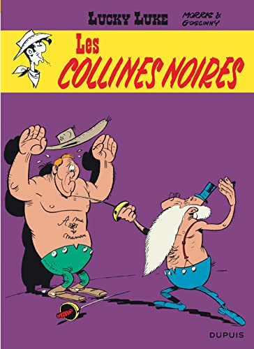 9782800114613: Lucky Luke, tome 21 : Les Collines noires