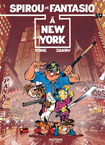 9782800115184: Spirou et Fantasio, tome 39 : A New York