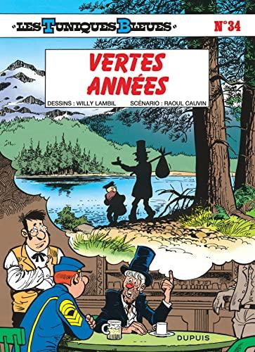 9782800119595: Les Tuniques bleues, tome 34 : Vertes ann�es