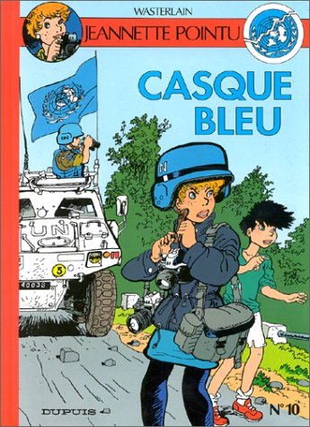 9782800122106: Jeannette Pointu, Tome 10 : Casque bleu