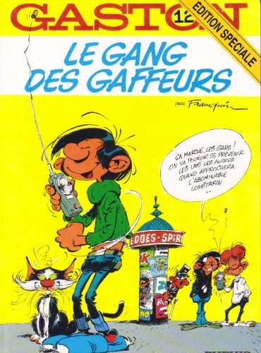 9782800123523: Gaston, numéro 12 : Le Gang des gaffeurs