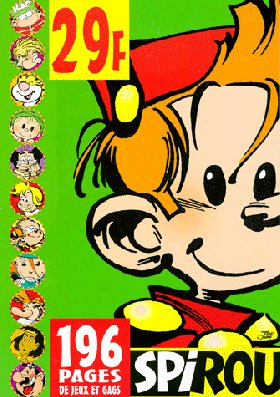 Spirou jeux (vert-juin 98) jeux et gags 06: Collectif