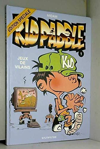 9782800128801: Kid Paddle, tome 1 : Jeux de vilains