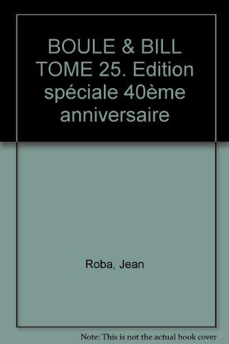 9782800129112: Boule et Bill, tome 25