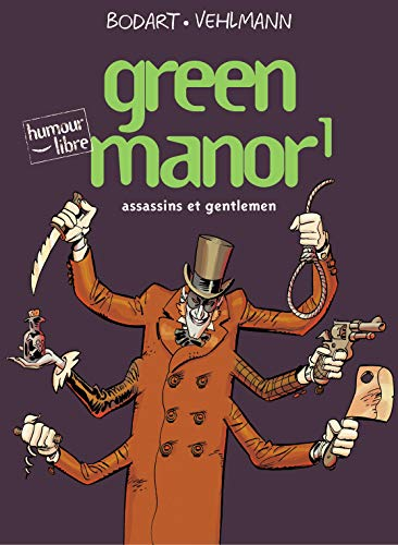 9782800131375: Green Manor, Tome 1 : Assassins et gentlemen (Humour libre)