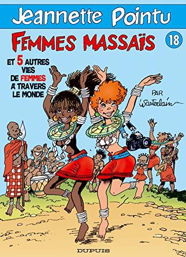 9782800133478: Jeannette Pointu, tome 18 : Femmes masaïs