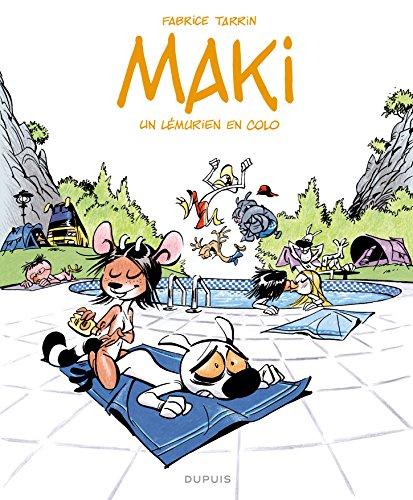 Maki - tome 1 - Un lémurien en colo - Tarrin