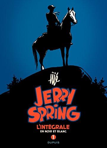 9782800145013: Jerry Spring : L'intégrale en noir et blanc : Tome 1