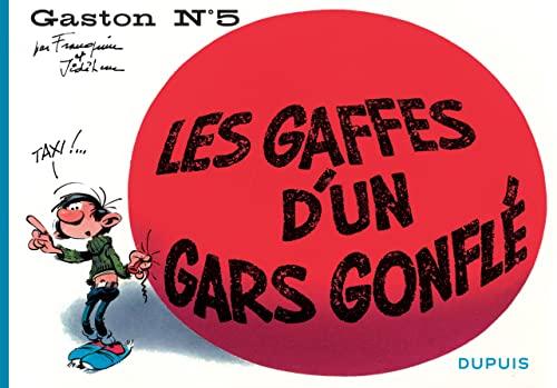 9782800159102: Gaston, Tome 5 : Les gaffes d'un gars gonflé
