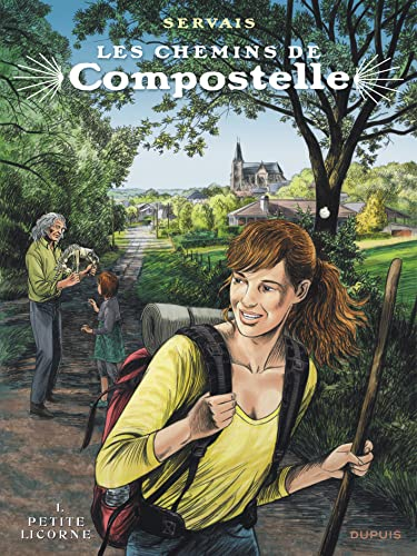 9782800161242: Les chemins de Compostelle - tome 1 - Petite licorne