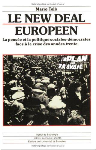 9782800409597: Le New Deal européen