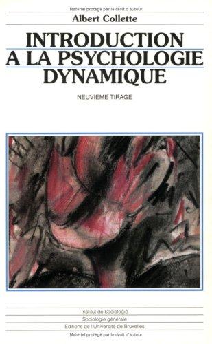 introduction a la psychologie dynamique: n/a