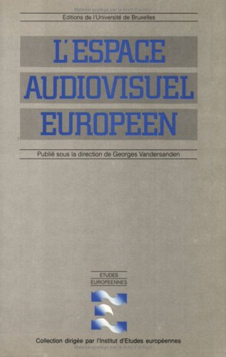 9782800410333: L'espace audiovisuel européen