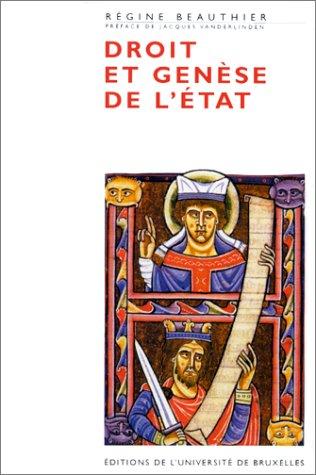 9782800411712: Droit et genese de l'Etat (French Edition)