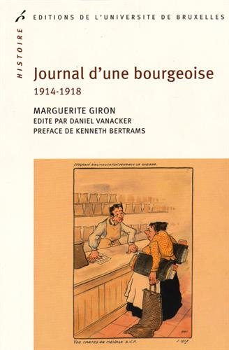 Journal d'une bourgeoise 1914-1918