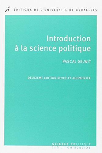 9782800415895: Introduction à la science politique 2e éd.
