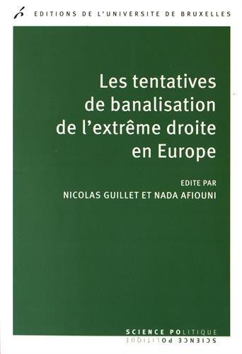 9782800416045: Les tentatives de banalisation de l'extrême-droite en Europe (Science politique)