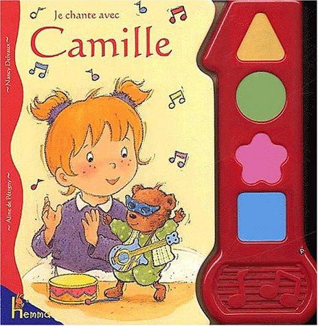 9782800681214: Je chante avec Camille
