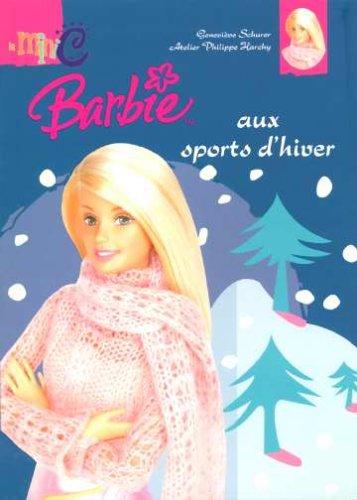 9782800686394: Barbie aux sports d'hiver