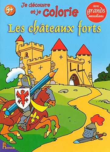 9782800688879: Je découvre et je colorie les châteaux forts